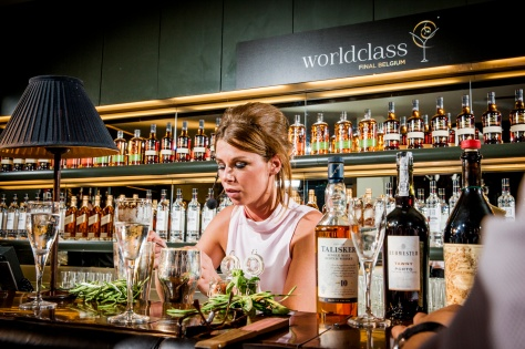 Diageo - Worldclass Final Belgium - 09/06/2014 - Café Theater, Gent